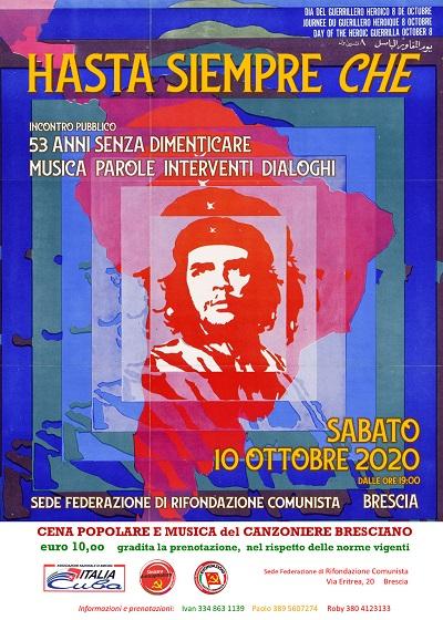 Eventi_2020_10_10_Brescia_HastaSiempreChe_400x560